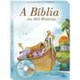 Livro 365 Histórias Da Bíblia Uma Para Cada Dia, Com Cd
