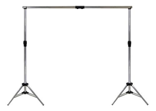 Suporte Fundo Infinito Estúdio Fotográfico Alumínio 2x2