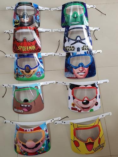 Máscara De Protección Para Niños Y Niñas