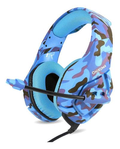 Fone De Ouvido Gamer Onikuma K1-b Navy Blue