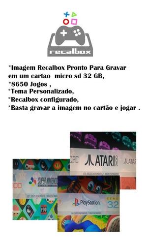 Recallbox 32gb 32 Emuladores