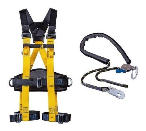 Cinto Paraquedista 7015 Athos Confort + Talabarte Posiciona