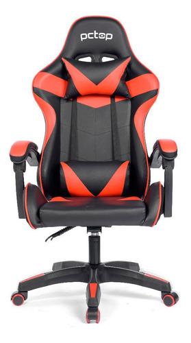 Cadeira Gamer Pctop Vermelha/preto Open Box