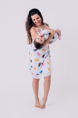 Camisola De Amamentação Tal Mãe Tal Filho Filha Blogueira