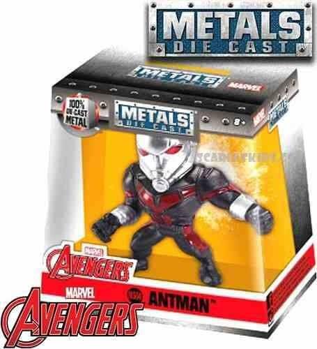 Antman Metals Die Cast 6,5 Cm Marvel Avengers Nuevo En Caja