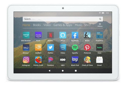 Tablet  Amazon Fire Hd 8 2020 Kfonwi 8  32gb White Com 2gb De Memória Ram