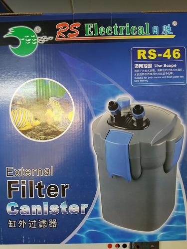 Filtro  Canister Rs46 13 W 700 L/h  Para Pecera Estanque Etc