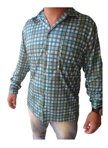Camisa Malha Fria Manga Longa Roça Serviço Barato Atacado