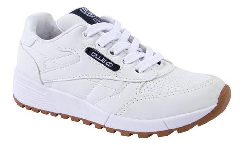 Tenis Kids Ollie Jogging Omega Inf  501 Branco