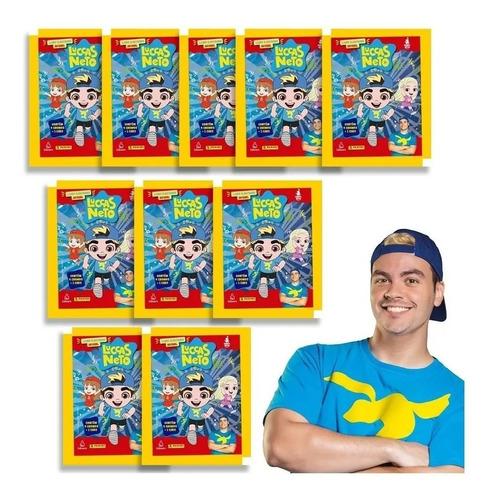 Figurinha Luccas Neto  20 Envelopes 80 Figurinhas 20 Cards