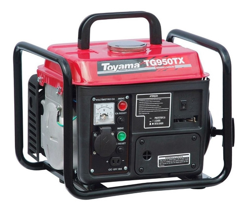 Gerador Portátil Toyama Tg950tx-110 850w Monofásico 110v