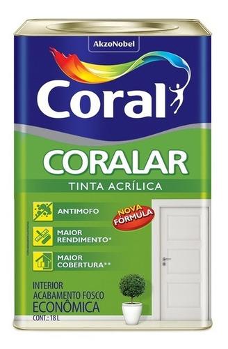Tinta Anti Mofo Acrilica 18 Litros Coral Escolha A Sua Cor