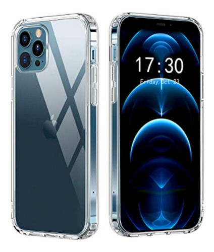 Capinha Clear Case Fina Acrílica iPhone 12 / 12 Pro/ 12 Max