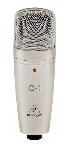 Micrófono Behringer C-1 Condensador  Cardioide Plata