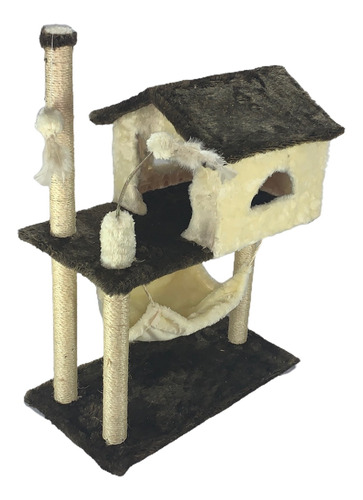 Arranhador Para Gato Casa Com Rede Promocao Varios Modelos