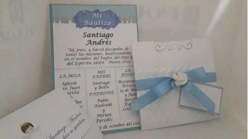 Invitaciones Para Matrimonio Bautizó,comunión Quince Años