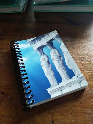 10 Souvenires Personalizados, Libreta Tapa Blanda Y Rulo