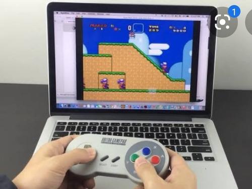 Super Nintendo Portátil (pen Drive) 1000 Jogos + 2 Controles
