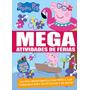 Livro Peppa Pig Mega Atividades De Ferias 01
