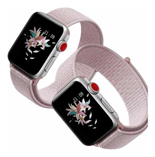 Pulseira Nylon Loop Compatível Apple Watch 38/40 42/44mm