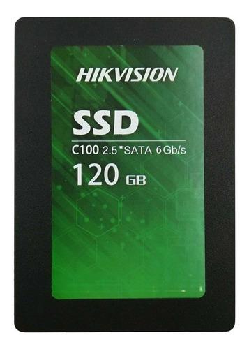 Disco Sólido Interno Hikvision C100 Series Hs-ssd-c100/120g 120gb
