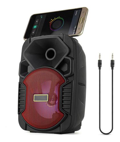 Caixinha Som Potente Portátil Bluetooth 5w + Auxiliar Oferta