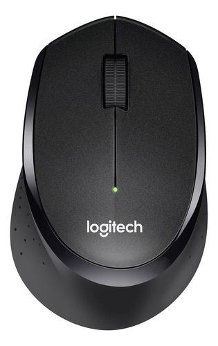 Mouse Inalámbrico Logitech  Silent Plus M330 Negro