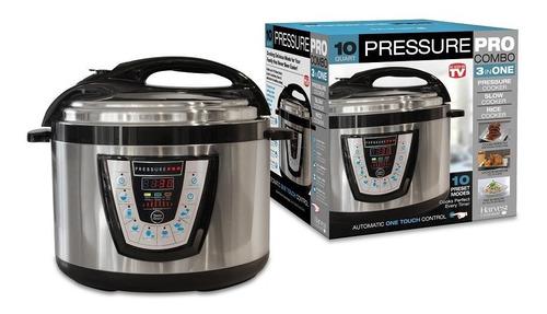 Olla A Presión Electrica De 5 Litros Pressure Pro - Telemax!