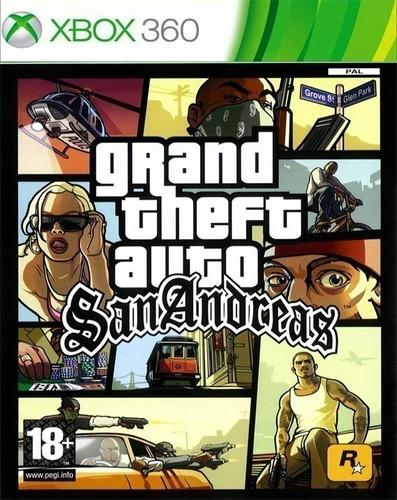 Gta San Andreas Xbox 360 - Midia Digital