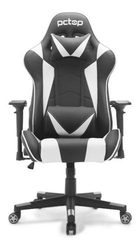 Cadeira Gamer Pctop Branca - Se1022