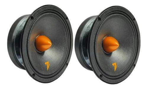 Alto Falante Mid Bass Zetta 160mg 6 Polegadas 320 Wrms (par)