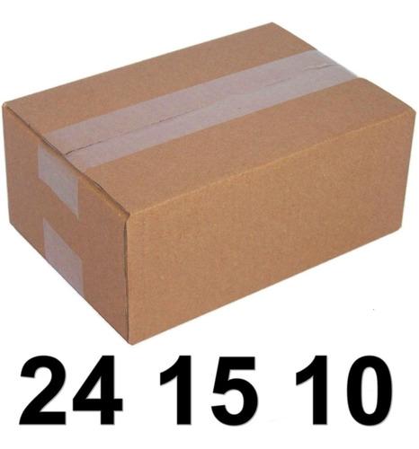 100 Caixas Papelao 24 X 15 X 10 Correio Mercado Envios Sedex
