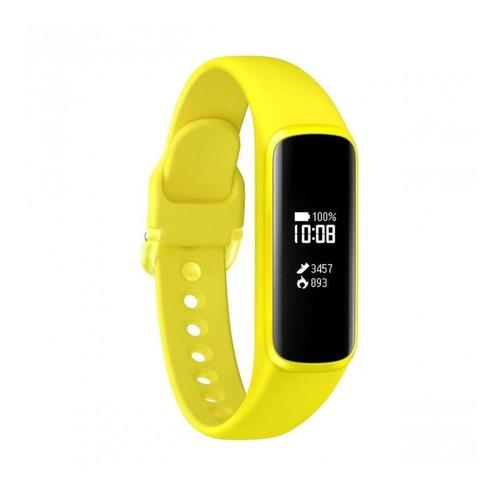 Relógio Smartwatch Samsung Galaxy Fit E - Amarelo