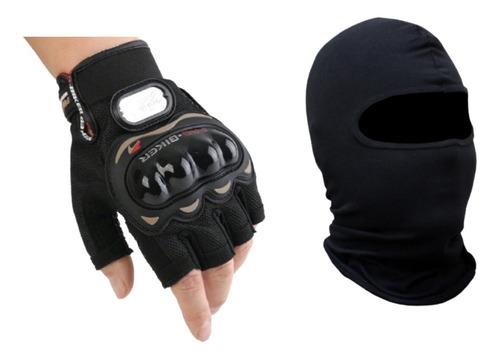 Luva Combo Touca Ninja