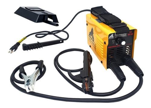 Maquina Solda Inversora Mini 219 Eletrodo Tig Elétrica Usk
