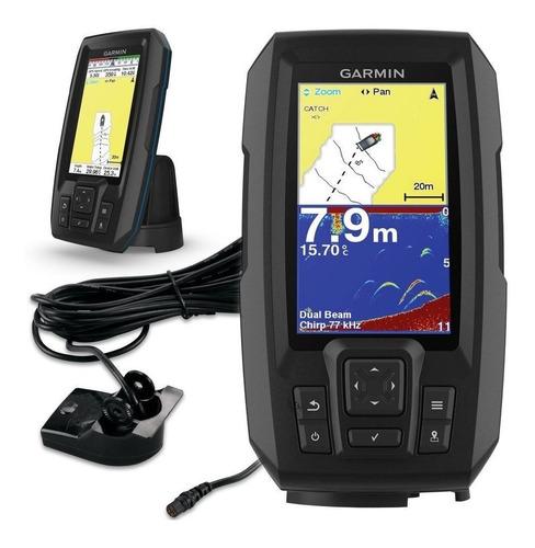 Ecosonda Garmin Striker 4 Con Gps Y Detector De Peces