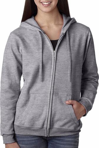 Moletom Blusa De Frio Feminino Masculino Aberto C/ Ziper Top