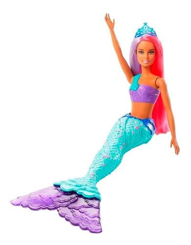 Barbie Dreamtopia Sereia- Calda Verde