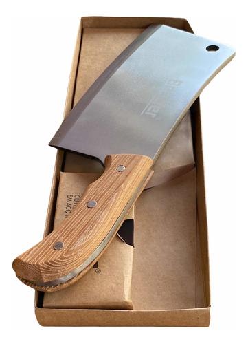 Cutelo Profissional 30cm Lâmina Em Aço Manganês 6mm