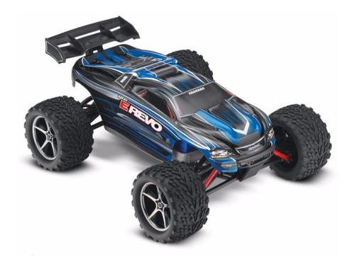 Automodelo Traxxas 1/16 E-revo Rtr With Tq 2.4ghz, Blue