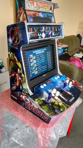 Máquina Fliperama Arcade Bartop Pk Multijogos Linda, Assista