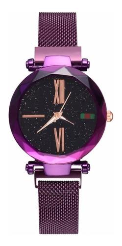 Entrega Inmediata Reloj Cielo Estrellado Correa Magnetica