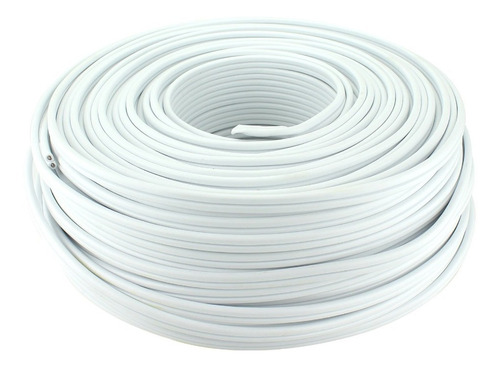 Cable Dúplex Eléctrico 2x22 Rollo 100 Metros Awg