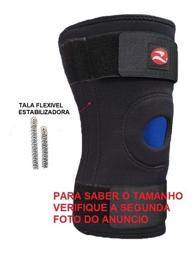 Joelheira Com Tala Flexível Articulada Metalica Realtex 0830