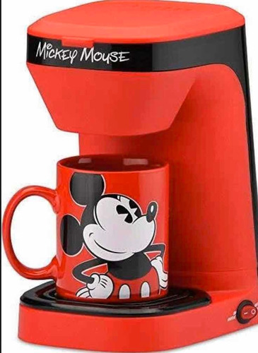 Cafeteira Elétrica Mickey Disney Parks 110w