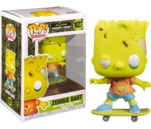 Funko Pop Bart Zombie