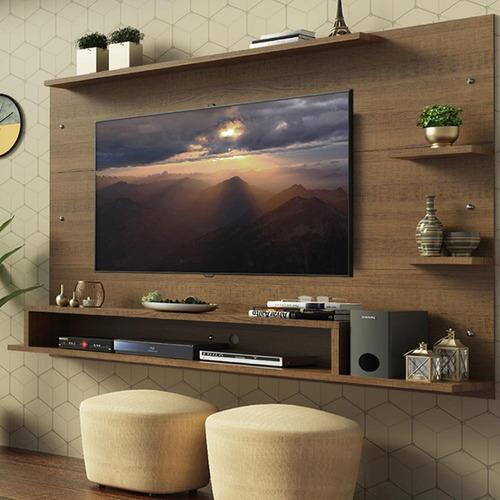 Painel Para Tv Até 60 Polegadas Madesa Alfa - Rustic