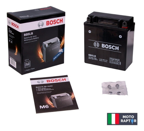 Bosch Bb5lb = Yt5a = Yb5l-bs Gel Yamaha R3