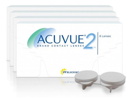 Lentes De Contato Acuvue 2 (combo 4 Cxs)