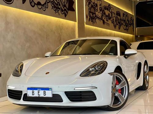 Porsche Cayman S 2018 Com Apenas 13.000km E Acessórios Top